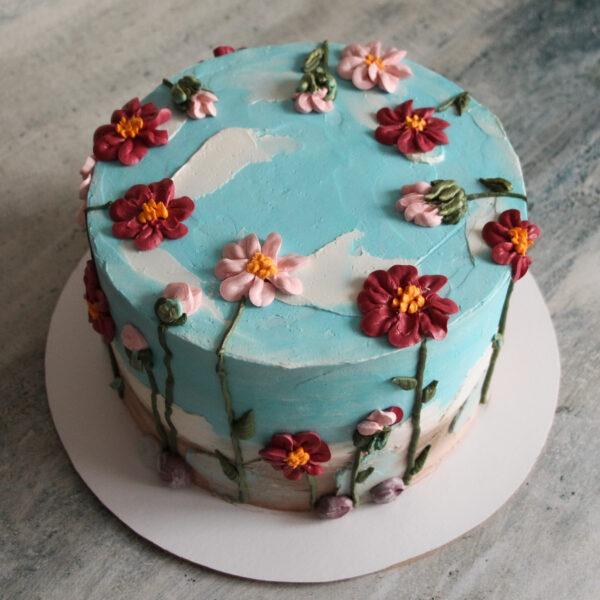 Торт «Цветочный»